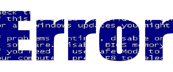 Analyser les écrans bleus avec Who Crashed