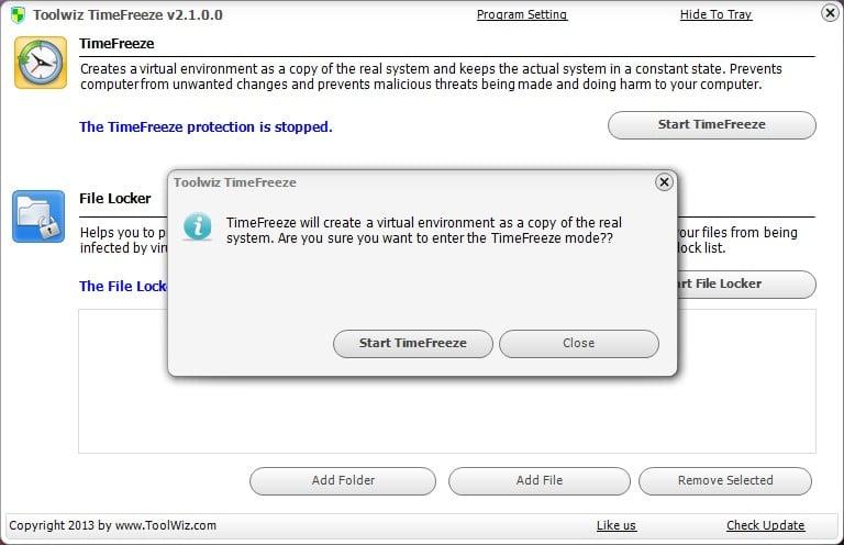 configurer toolwiz