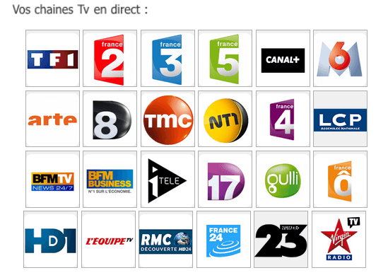 webplayer tv en direct