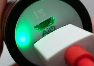 led verte aukey batterie externe
