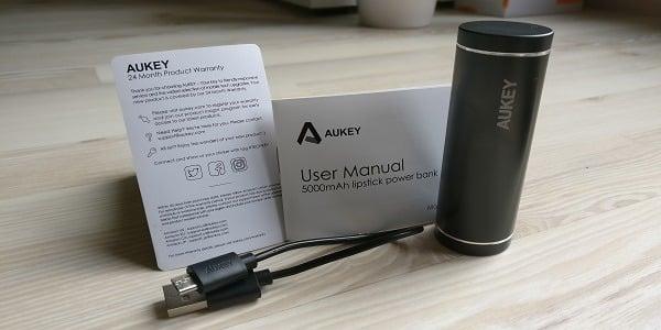 Test : Mini Batterie Externe de chez AUKEY