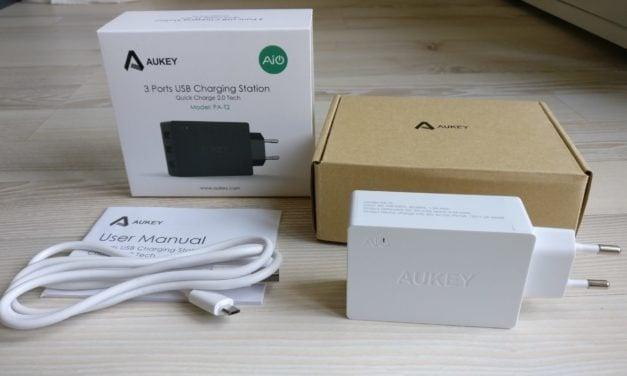 Test : Chargeur secteur USB de chez AUKEY