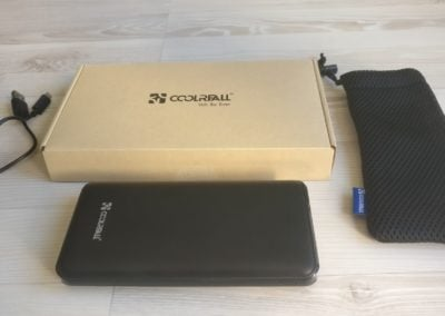batterie externe portable coolreall