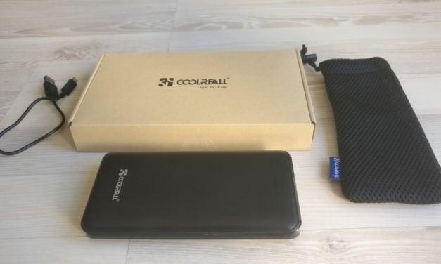 Test : Batterie Externe de chez COOLREALL