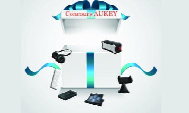Concours AUKEY : Gagnez plein de cadeaux !!!