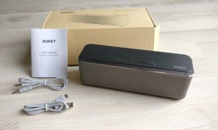 Test : Enceinte Bluetooth de chez AUKEY