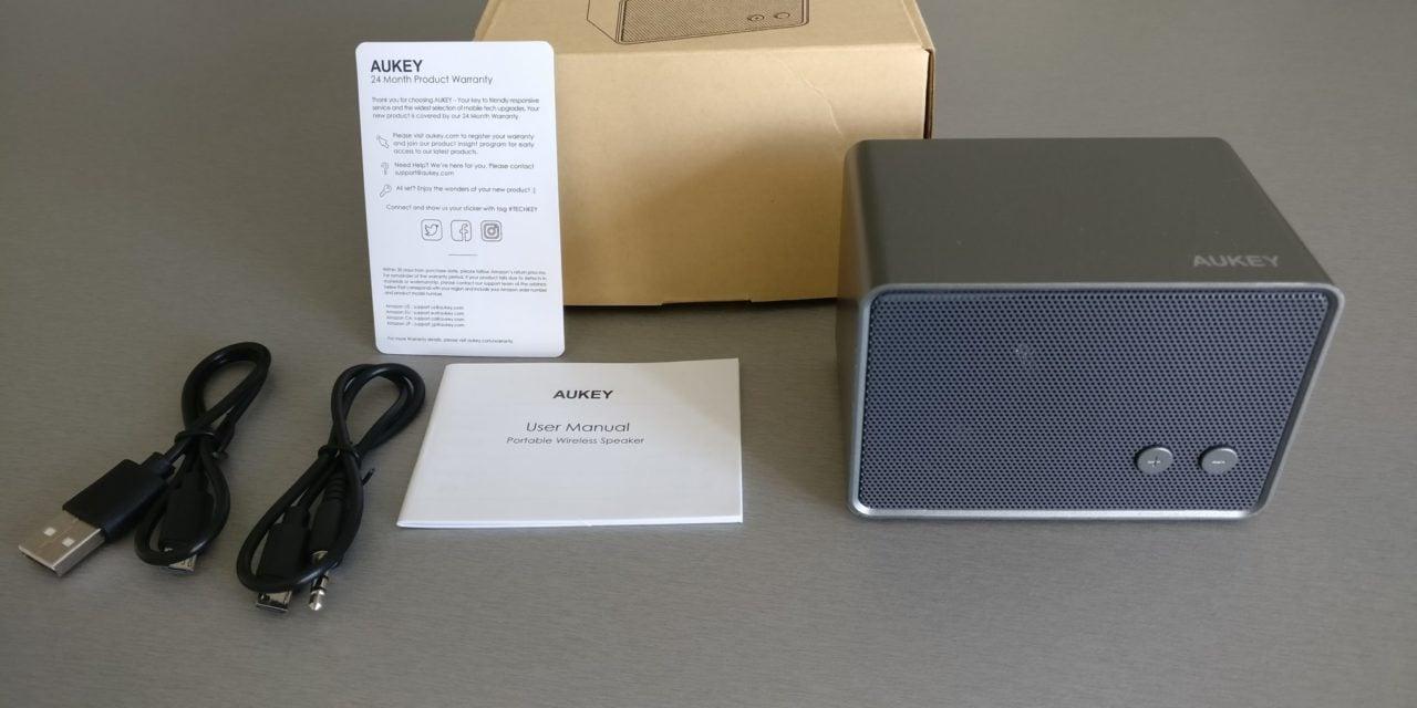 Test : Mini Enceinte Bluetooth de chez AUKEY