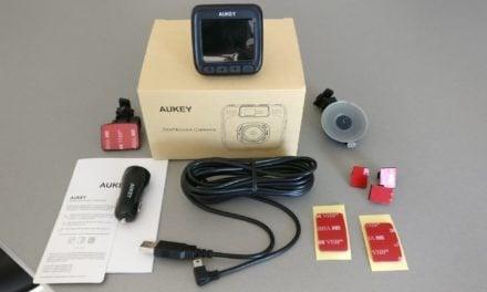 Test : Dashcam – Caméra de voiture de chez AUKEY