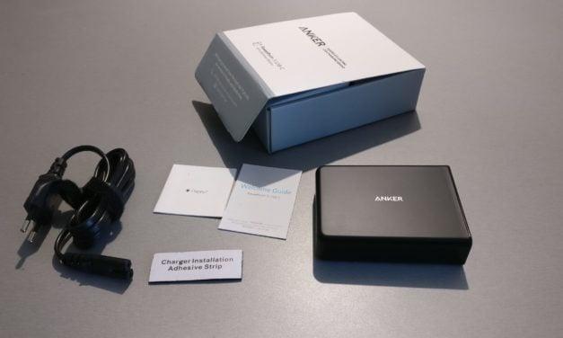 Test : Chargeur secteur USB de chez ANKER – PowerPort+ 5USB-C