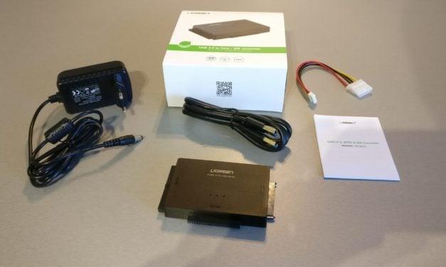 Test : Adaptateur USB 3.0 vers Disque Dur de chez UGREEN