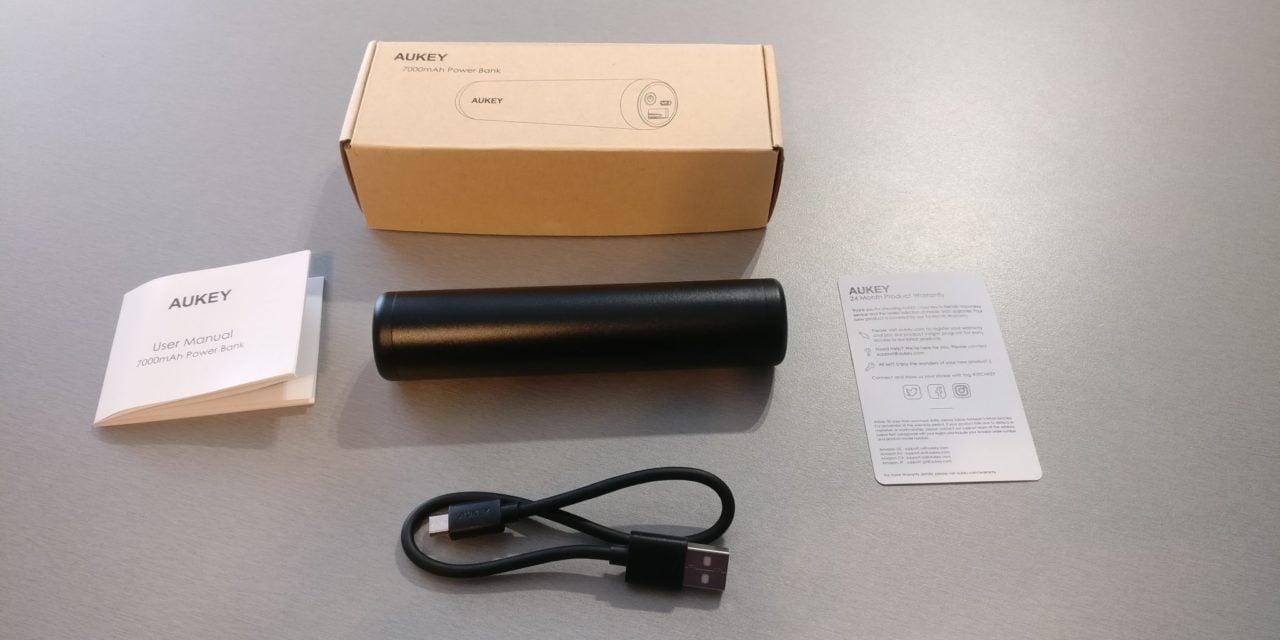 Test : Mini Batterie externe 7000mAh de chez AUKEY