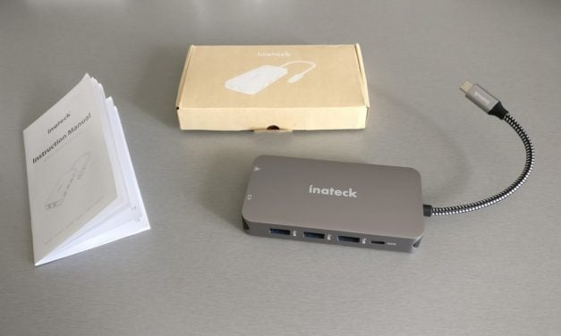 Test : Hub USB C multifonction de chez INATECK
