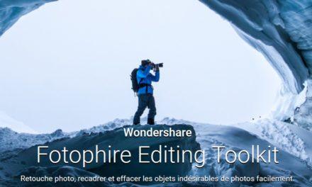 Retoucher vos photos avec Fotophire