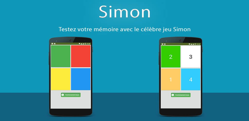 Application Android : Simon – Memory Game