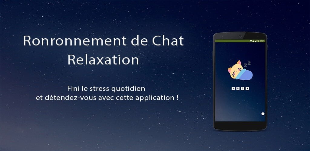 Application Android : Ronronnement de chat – Relaxation
