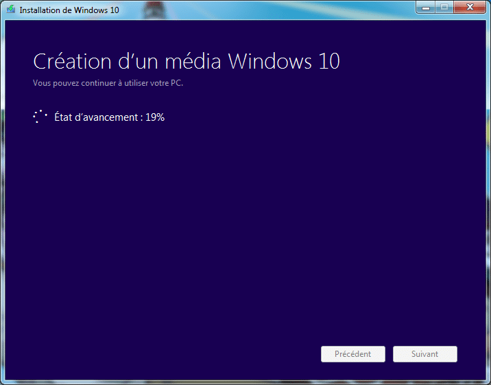 creation media windows 10