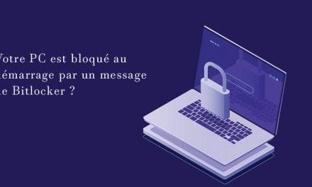 Solution: PC bloqué au démarrage par BitLocker