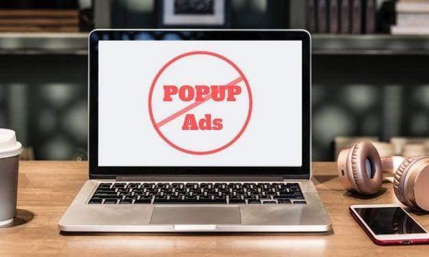 Supprimer les pop-up qui apparaissent en bas à droite de l'écran