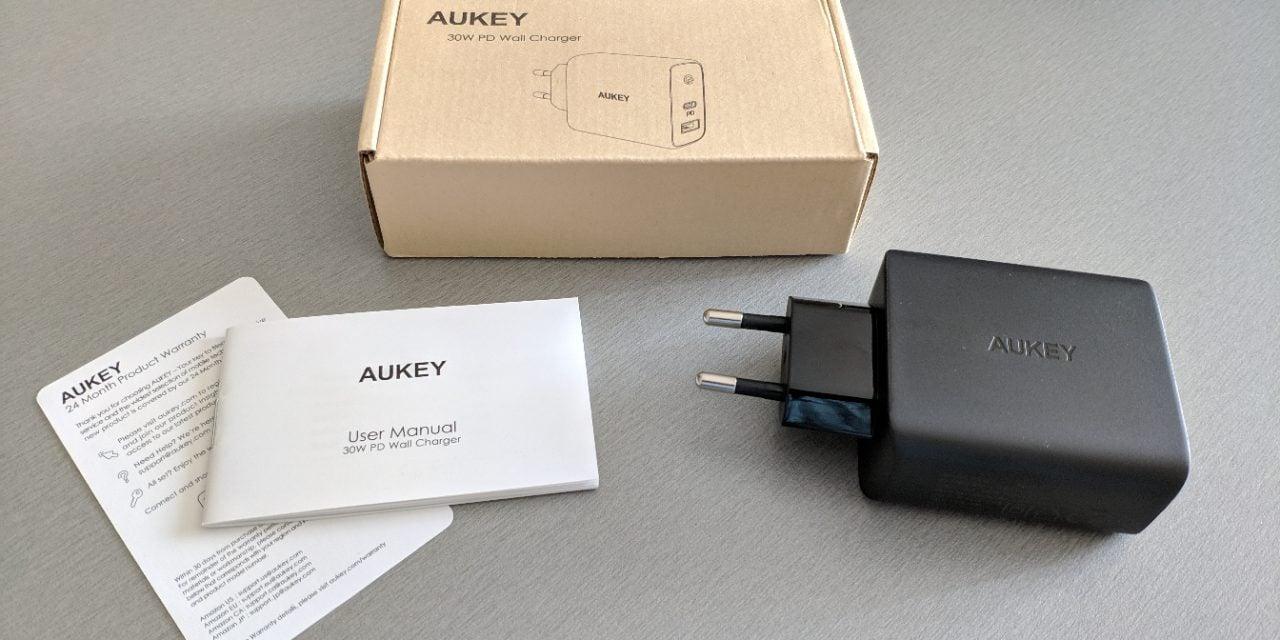 Test : Chargeur USB C – PA-D1 de chez AUKEY