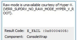 VirtualBox Raw-mode is unavailable