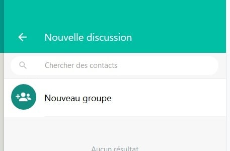 message whatsapp web ordinateur