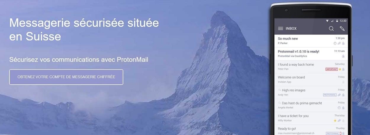 ProtonMail offre 5 Go de stockage en plus