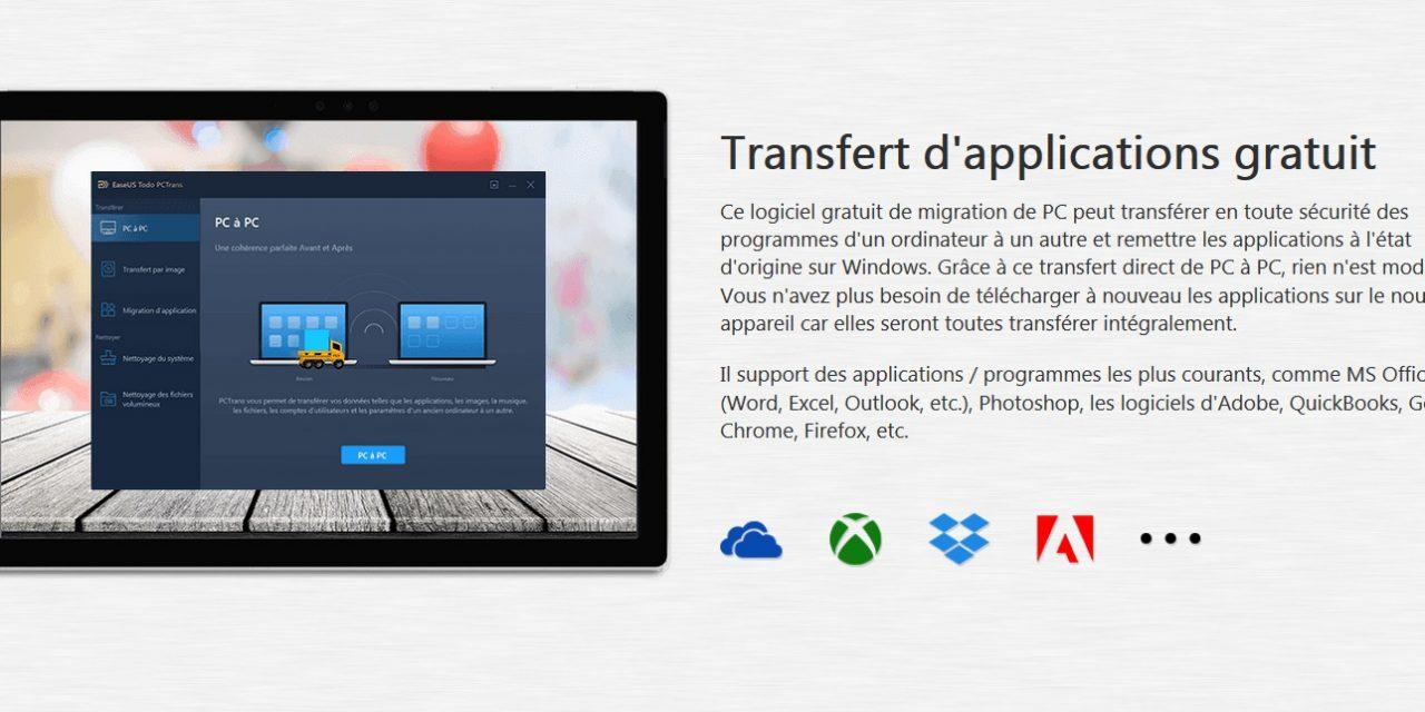 Transfert de fichiers entre 2 PC Windows 10