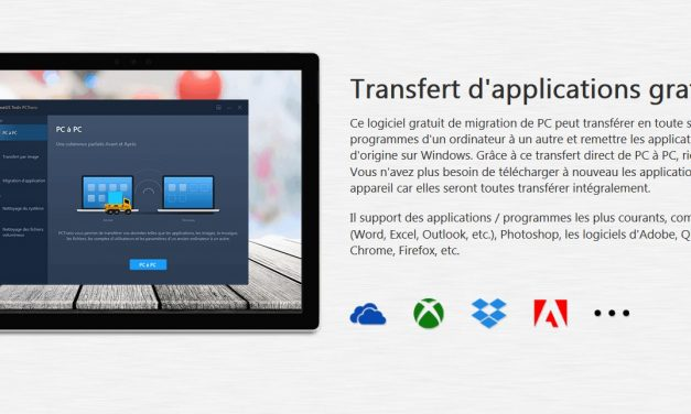 Transfert de fichiers entre 2 PC Windows 10