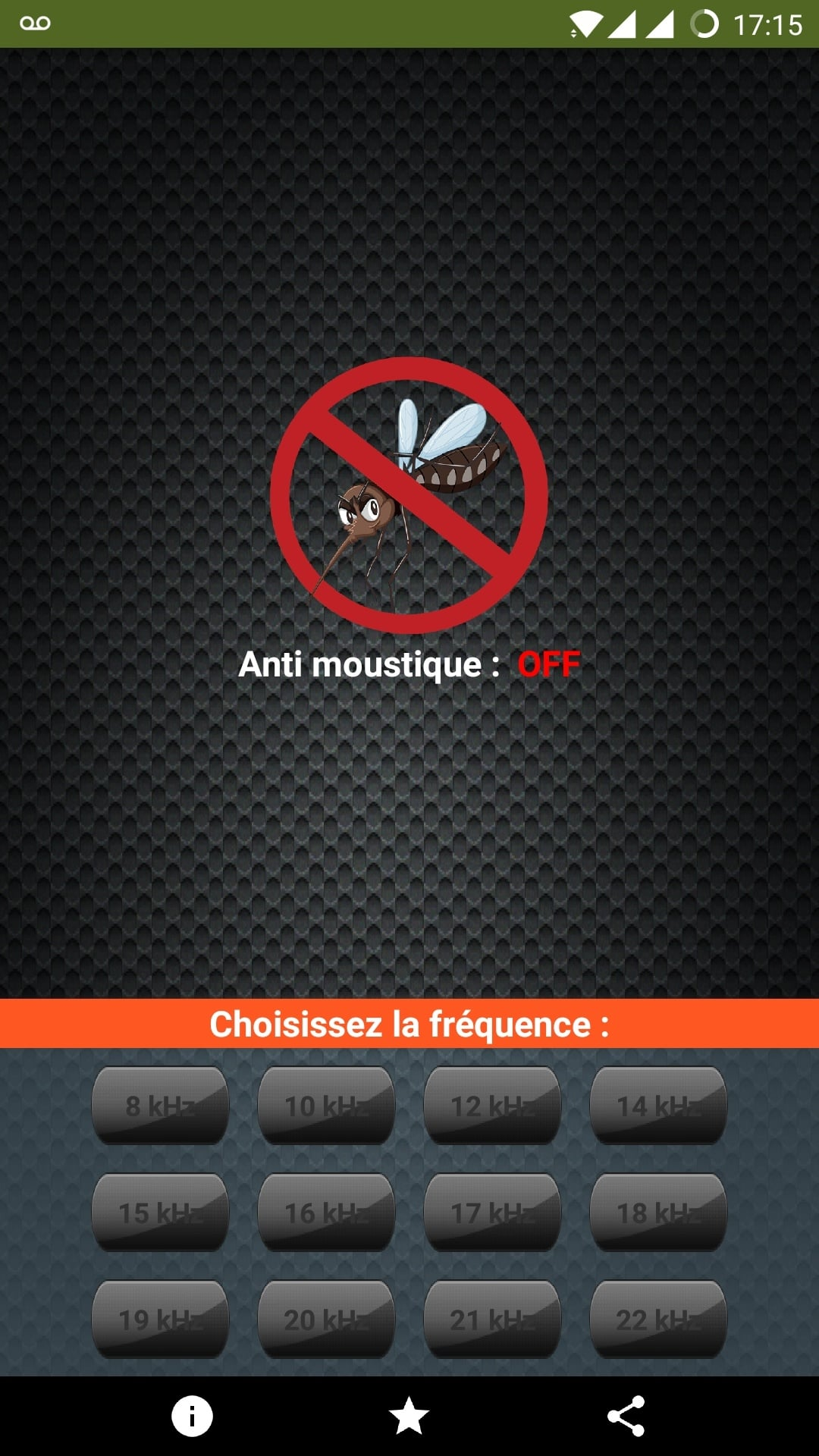 anti moustique android application